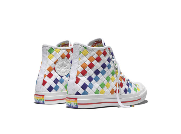 Converse Chuck Taylor All Star Pride - Rainbow Back